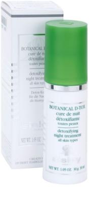 Sisley Botanical D-Tox noční sérum pro všechny typy pleti 2