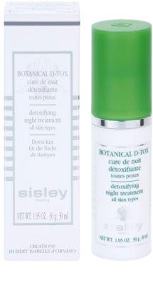 Sisley Botanical D-Tox noční sérum pro všechny typy pleti 3