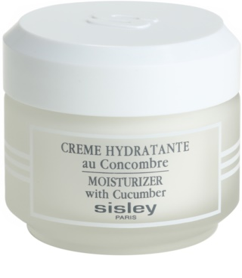 Sisley Skin Care crema hidratante con extractos de pepino