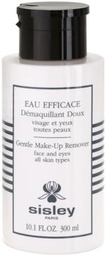 Sisley Eau Efficace make-up lemosó az arcra és a szem környékére