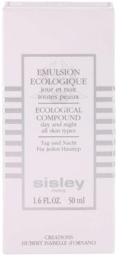 Sisley Ecological Compound хидратираща емулсия  за всички типове кожа на лицето 3