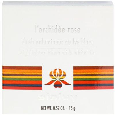Sisley L'Orchidée Rose rozjasňující tvářenka 3