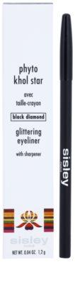 Sisley Phyto-Khol Star delineador de olhos com glitter 3