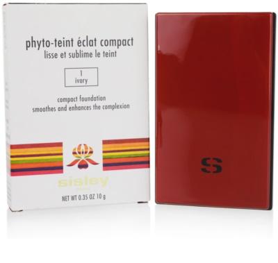Sisley Phyto-Teint Éclat Compact тональна пудра 1