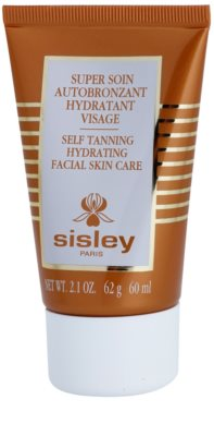 Sisley Self Tanners önbarnító arckrém hidratáló hatással
