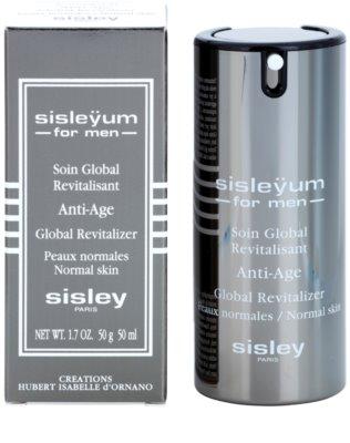 Sisley For Men Sisleyum cuidado complejo efecto revitalizante y antienvejecimiento para pieles normales 1