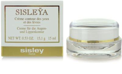 Sisley Sisleya Anti-Faltencreme für den  Augen - und Lippenbereich 2