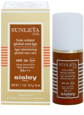 Sisley Sun védőkrém a bőröregedés ellen SPF 30 2