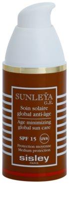 Sisley Sun schützende Creme gegen Hautalterung SPF 15 1