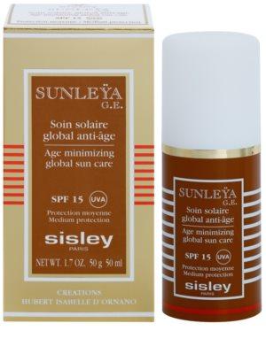 Sisley Sun schützende Creme gegen Hautalterung SPF 15 2