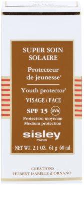 Sisley Sun protectie solara rezistenta la apa pentru fata SPF 15 2
