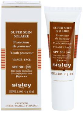 Sisley Sun wasserfeste Bräunungscreme für das Gesicht SPF 50+ 1