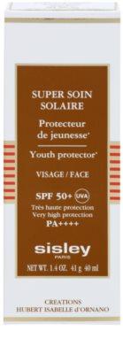 Sisley Sun wasserfeste Bräunungscreme für das Gesicht SPF 50+ 2