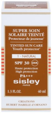 Sisley Sun сонцезахисний тонуючий крем для шкіри обличчя SPF 30 2