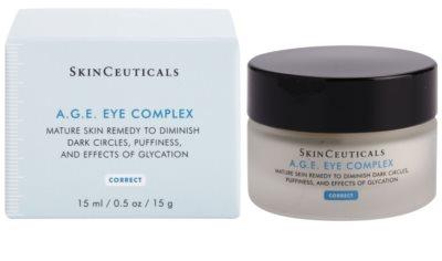 SkinCeuticals Correct крем від набряків та темних кіл під очима  для зрілої шкіри 2