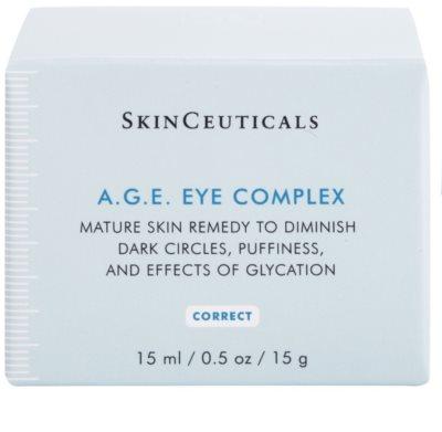 SkinCeuticals Correct крем від набряків та темних кіл під очима  для зрілої шкіри 3