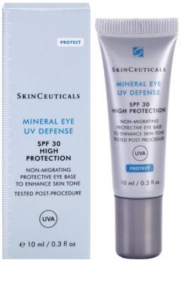 SkinCeuticals Protect захисна тональна основа на область навколо очей SPF 30 1