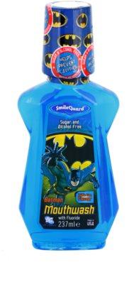 SmileGuard Batman elixir bocal para crianças com fluór