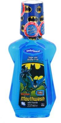 SmileGuard Batman enjuague bucal para niños con fluoruro