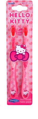 SmileGuard Hello Kitty escova de dentes suave para crianças 2 pçs