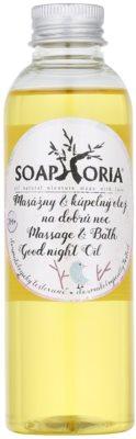 Soaphoria Babyphoria олійка для масажу та ванни на добраніч для дітей