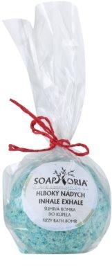 Soaphoria Inhale Exhale шипучі бомбочки для ванни з відновлюючим ефектом