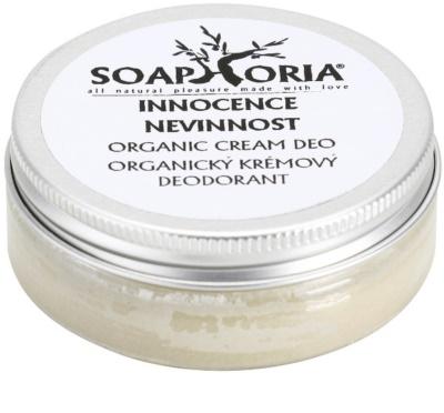 Soaphoria Innocence desodorante orgánico en crema