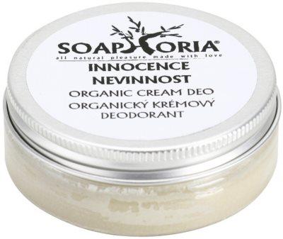 Soaphoria Innocence organikus krémes dezodor