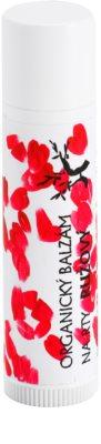 Soaphoria Lip Care organischer Lippenbalsam mit Rosen