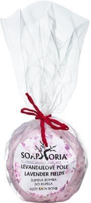 Soaphoria Lavender Fields kúpeľový balistik s regeneračným účinkom