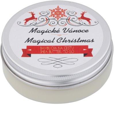 Soaphoria Magical Christmas manteca de karité  con efecto regenerador