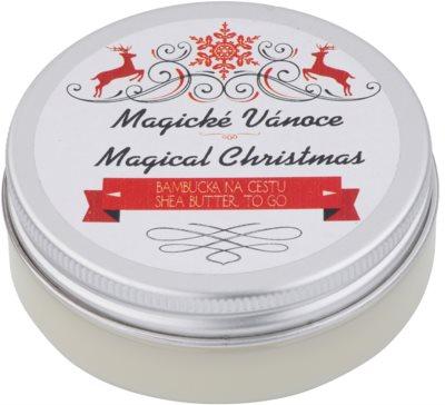 Soaphoria Magical Christmas shea vaj regeneráló hatással