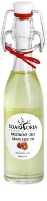 Soaphoria Organic aceite de semillas de uva para tensar la piel