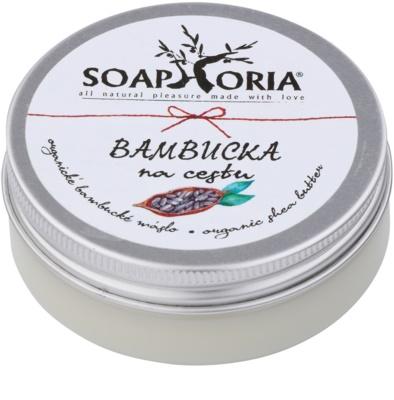 Soaphoria Organic bambucké maslo