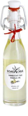 Soaphoria Organic masážní olej s vanilkou