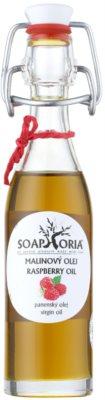 Soaphoria Organic aceite de frambuesa para el cuerpo