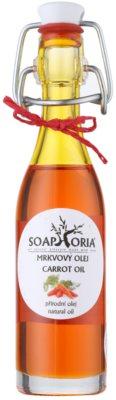 Soaphoria Organic vyživujúci mrkvový olej na tvár, telo a vlasy