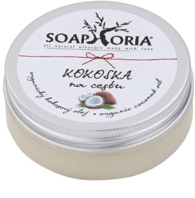 Soaphoria Organic olejek kokosowy do twarzy, ciała i włosów