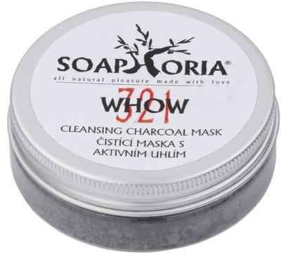 Soaphoria Organic tisztító maszk szénporral
