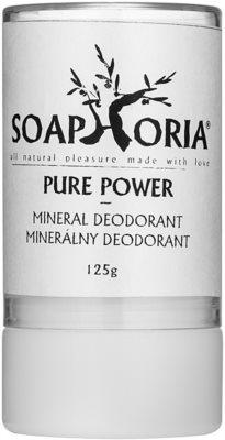 Soaphoria Pure Power minerálny dezodorant