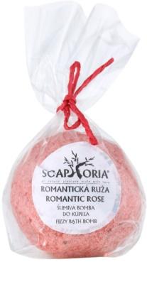 Soaphoria Romantic Rose antistress bath ballistics efect regenerator