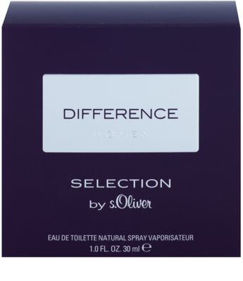 s.Oliver Difference Women eau de toilette para mujer 1