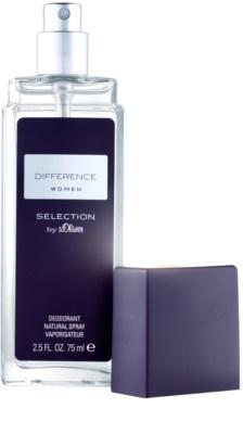 s.Oliver Difference Women deodorant s rozprašovačom pre ženy 1