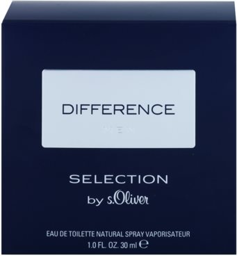 s.Oliver Difference Men Eau de Toilette für Herren 1