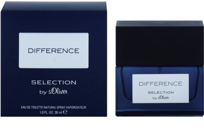 s.Oliver Difference Men Eau de Toilette para homens