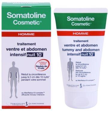 Somatoline Homme Nuit 10 crema cu efect de slabire pentru burta si solduri pentru barbati 1