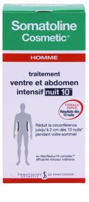 Somatoline Homme Nuit 10 crema cu efect de slabire pentru burta si solduri pentru barbati 2
