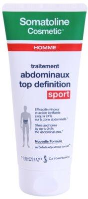 Somatoline Homme Sport Gel de emagrecimento para definir a área abdominal para homens