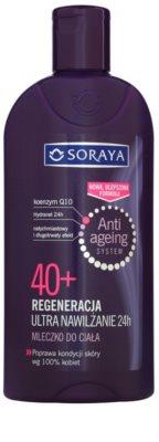 Soraya Anti Ageing hidratáló testápoló tej regeneráló hatással