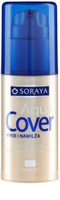 Soraya Aqua Cover fedő make-up hidratáló hatással
